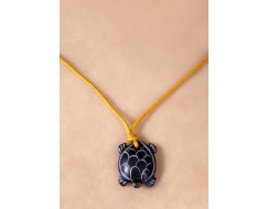 Tortoise Pendant Necklace