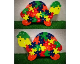 Wooden Tortoise Jigsaw Puzzle DISCONTINUED