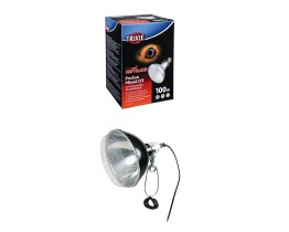 Trixie ProSun 100 Watt UV/Basking Bulb and Clamp Lamp