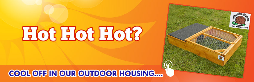 Feeling Hot Hot Hot ? cool off in our outdoor housing